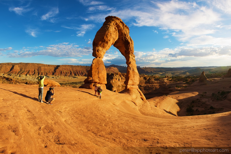 Delicate Arch in The Arches