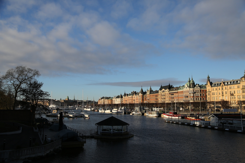 Östermalm viewed from Kungsholmen