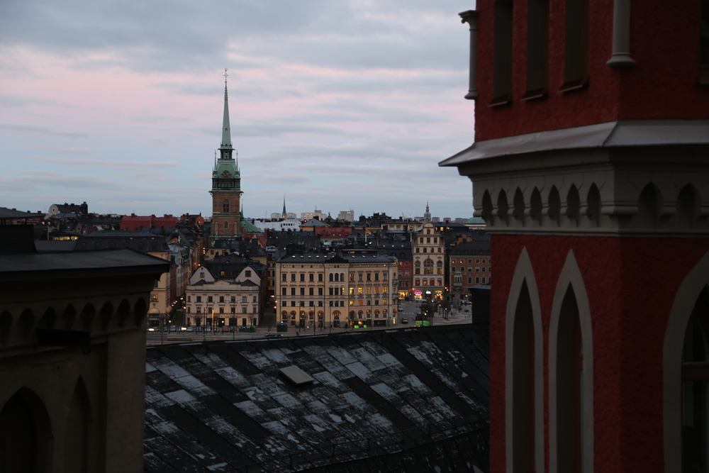 Gamla Stan seen from Södermalm