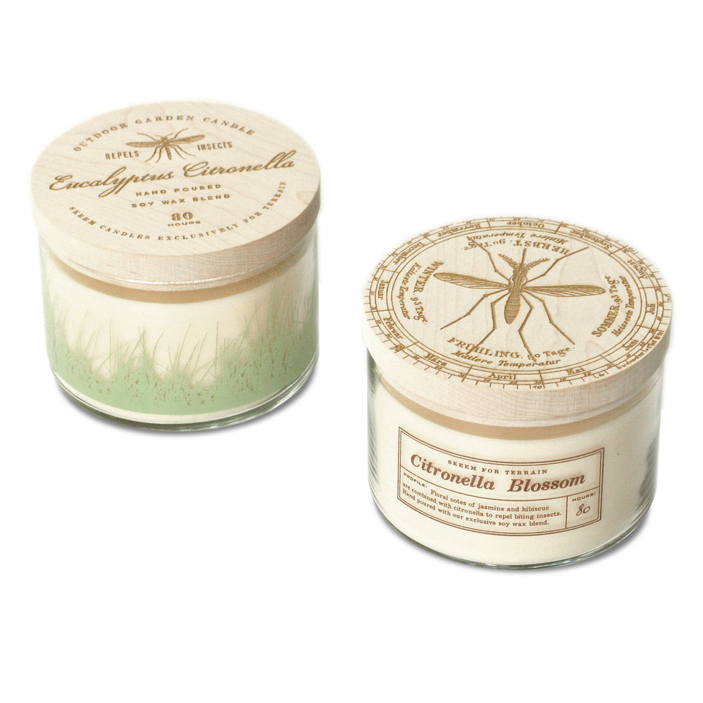 Citronella Three Wick Candles