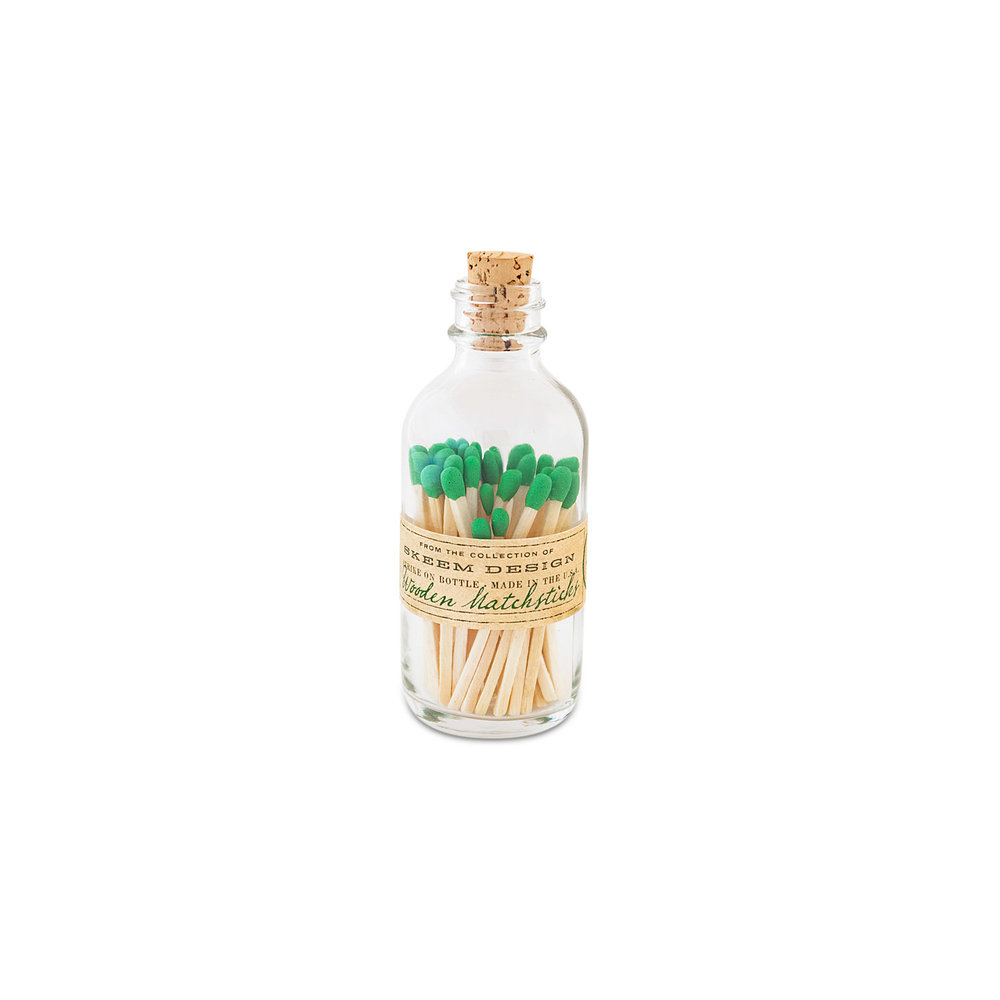 Mini Apothecary Match Bottle