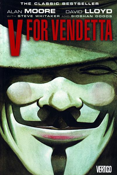 V for Vendetta is about anarchy. Even as a high school kid, I was a rule follower, but Moore's arguments against rules made sense to me.