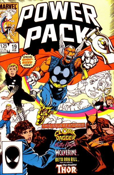 I do remember a comic that made me cry. It was Power Pack #19.