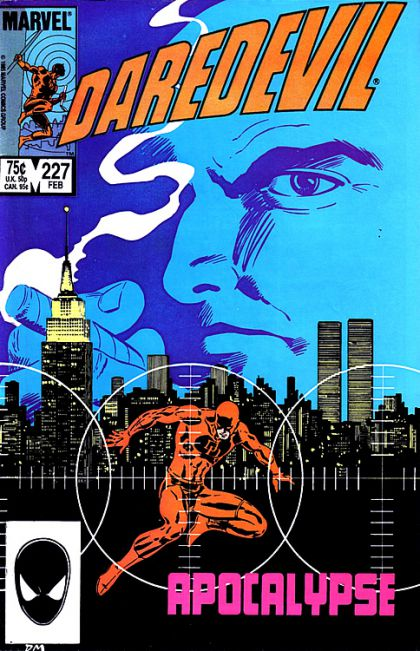 I was a fat ten-year-old kid whose parents were divorcing, and I had very few friends. Daredevil's comic looked about as lonely me.