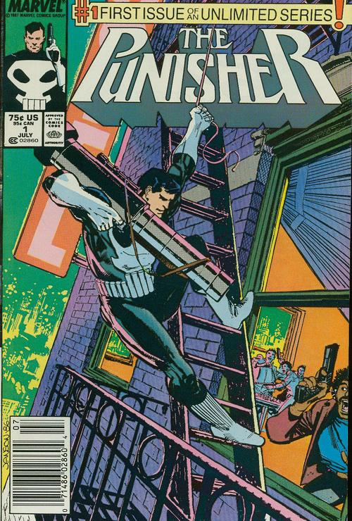 As a kid attracted to heavy metal band posters more than heavy metal music, the Punisher was a character I immediately invested in.