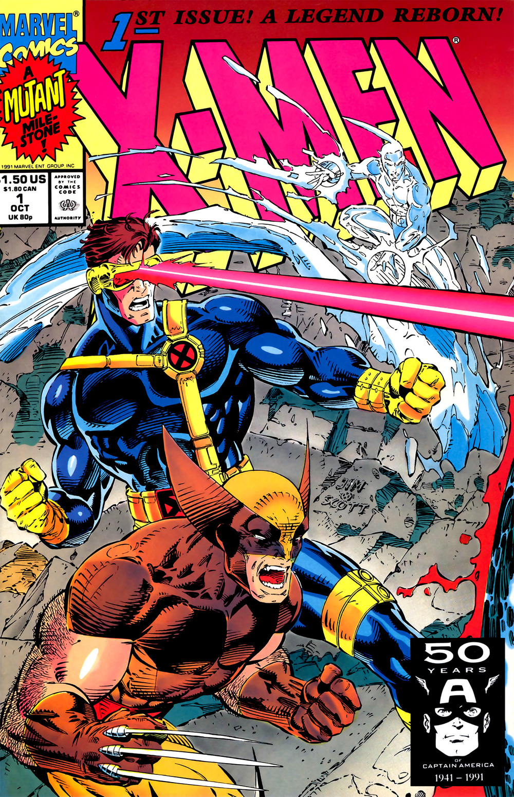 X-Men #1 began a painful process of collecting for me -- painful because I was a kid with no money; and comic book collecting was an expensive habit.