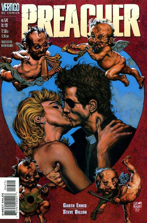 What got me to Texas was love, which is really what Preacher is also about, once you get past all the violence, the vampires and weird sex stuff.