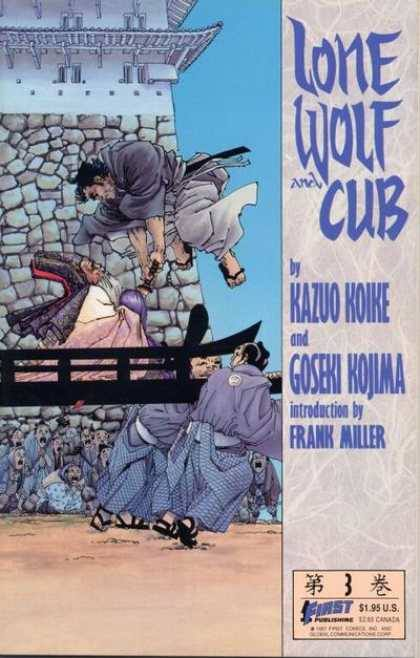 Ultimately, Lone Wolf and Cub was my Ellis Island, welcoming me slowly, warmly into the English language.