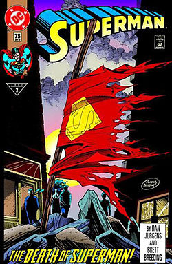 The Death of Superman -- one of Jurgen's most powerful contributions during his 10 year run on the title.
