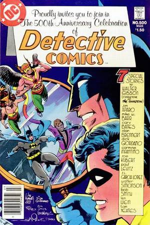 Detective Comics 500 was another parallel world story. I tended to gravitate to these types of stories because of my conflicting feelings about my own