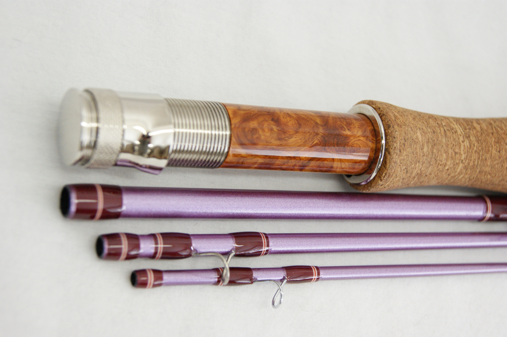 Fall River Flyrods: Custom graphite rod