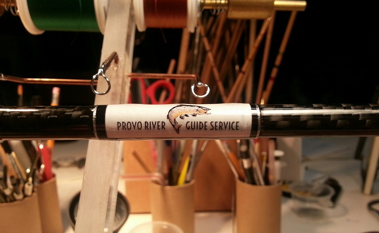 our personalized shop rods!