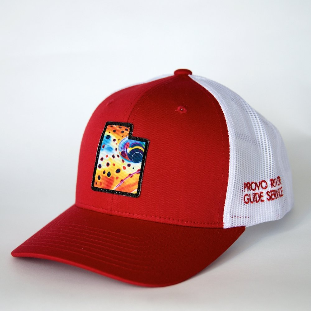 trucker hat | red