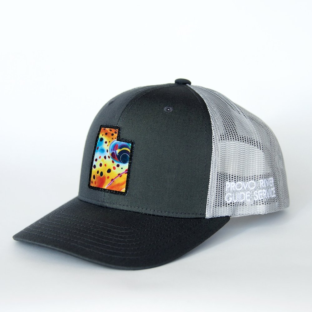 trucker hat | grey