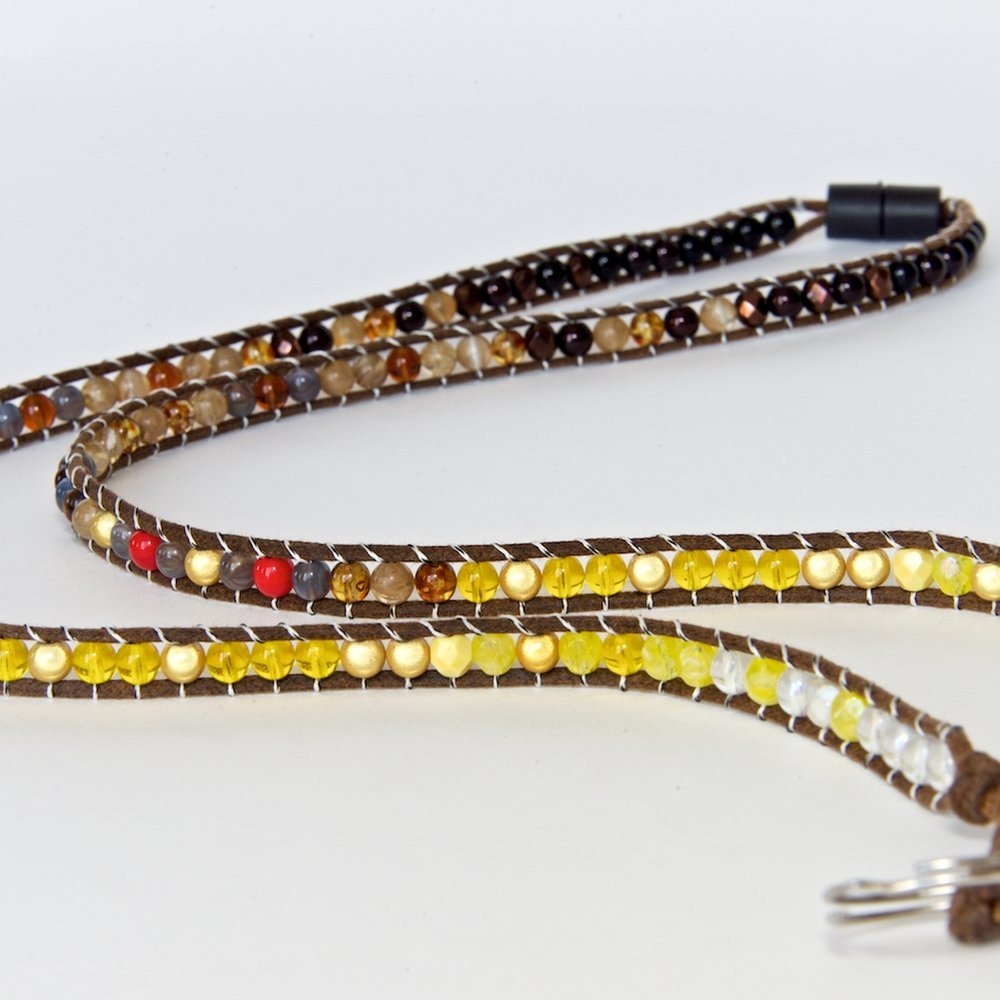 fly fishing lanyard | brown trout 1