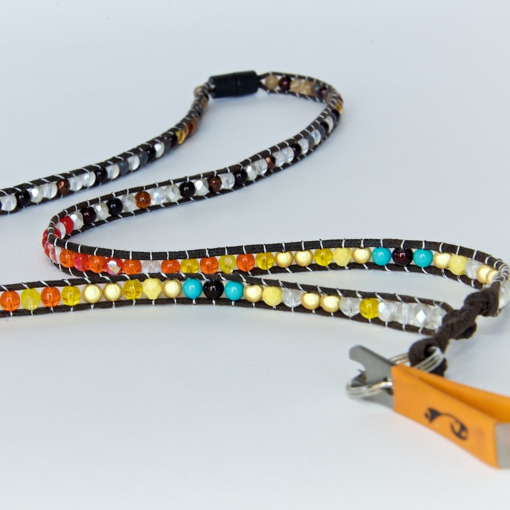 fly fishing lanyard | brown trout 2