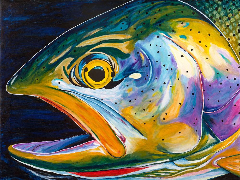 #8 | acrylic on canvas or custom prints available