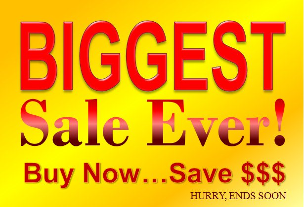 Biggest Sale