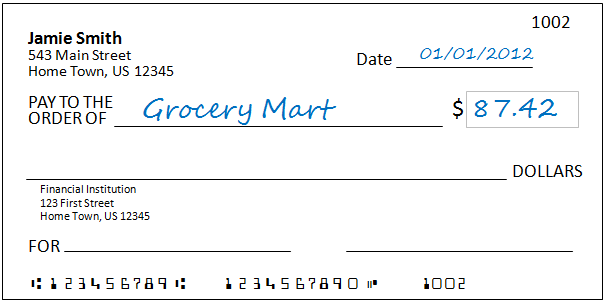 writing a check for over 10000