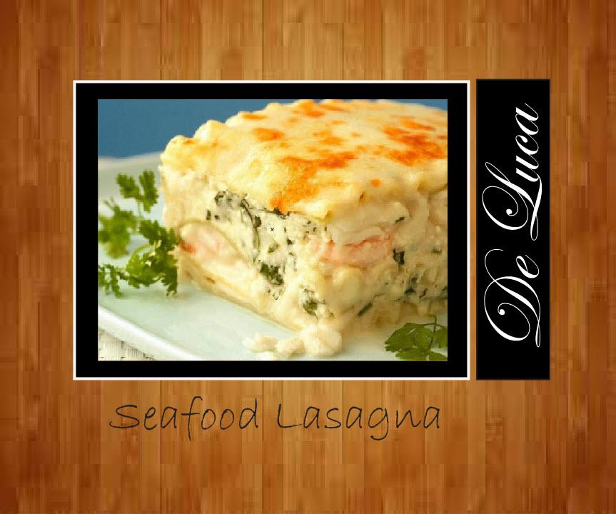 Seafood Lasagna $20