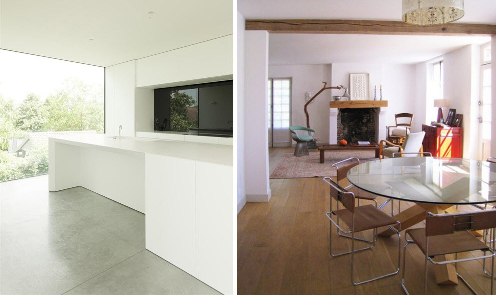 Left via  Dezeen  | Right via  Bloesem