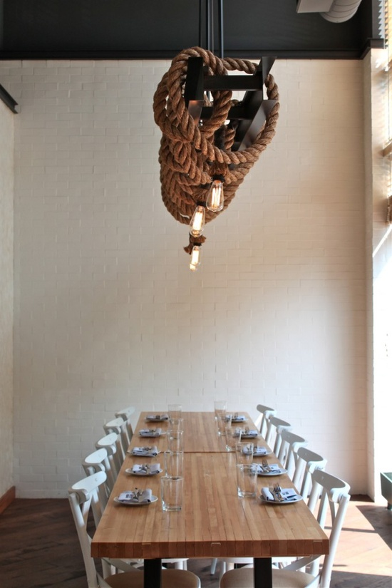 West Bridge Restaurant in Boston, via  Remodelista
