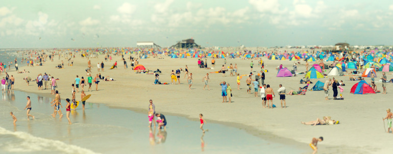 Beach of St. Peter-Ording II , by Margarita Kazanovich (via Saatchi Online)