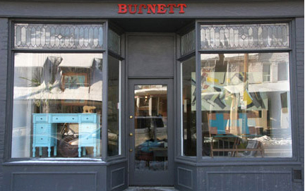 Burnett's adorable storefront