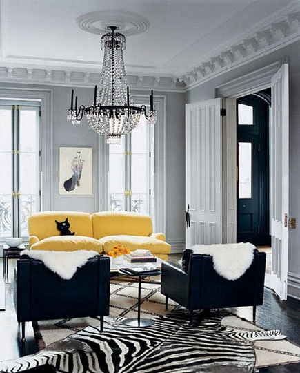Jenna Lyon's Brooklyn Brownstone | Domino Magazine, via Habitually Chic