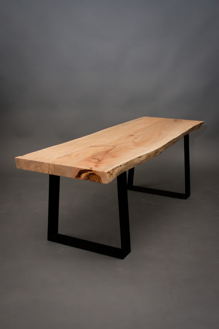 Ambrosia Maple Bench  - ElpisWorks ($555), Etsy.com