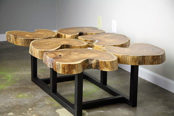 Funky Coffee Table   - LeeCowen ($525), Etsy.com
