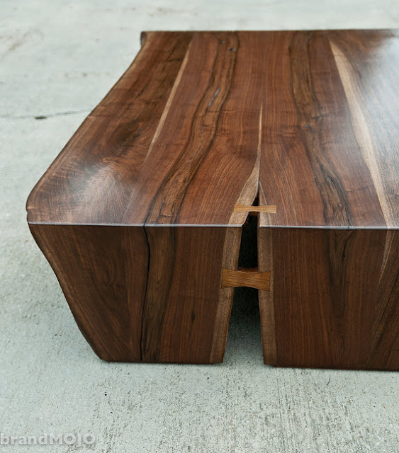 Live Edge Coffee Table  - BrandMojoInteriors ($1,950), Etsy.com