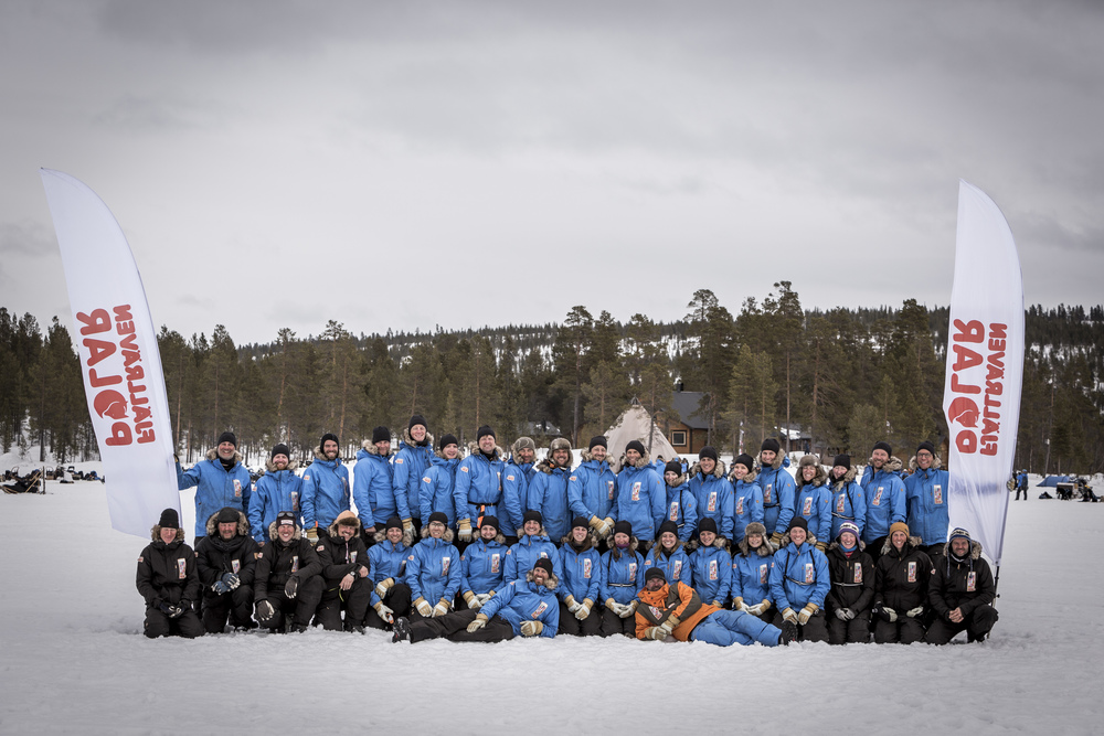 The adventure of Fjällräven Polar 2014 comes to a close. (Photo by Håkan Wike for Fjällräven International. All rights reserved.)