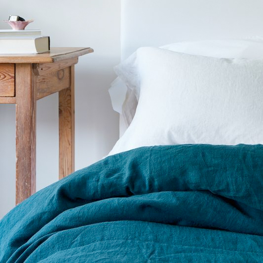 FOOD 52  A Duvet Cover Hack We're Stealing from Hotel Bedding