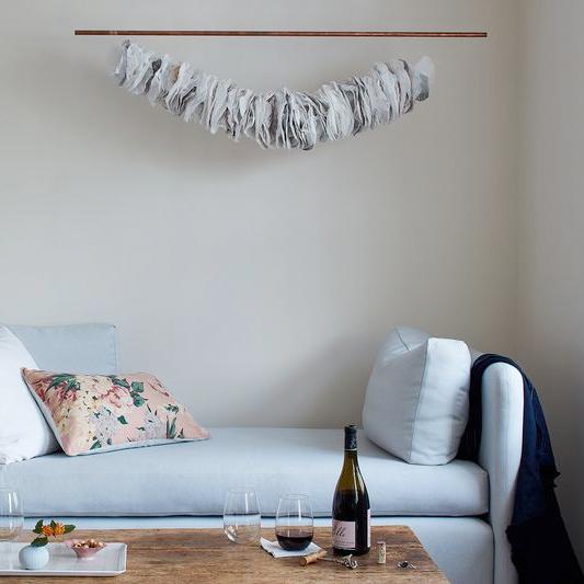 FOOD 52  DIY Hanging Display Pipe