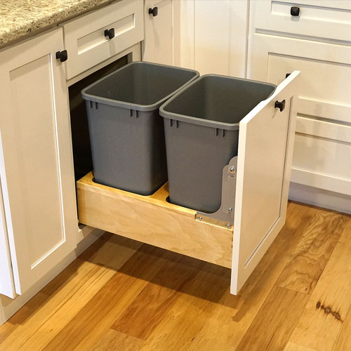 Nice Kitchen Cabinet Slide Out Recycle Center U2014 Founderu0027s Choice | Cabinets +  Countertops In Tacoma, Wa