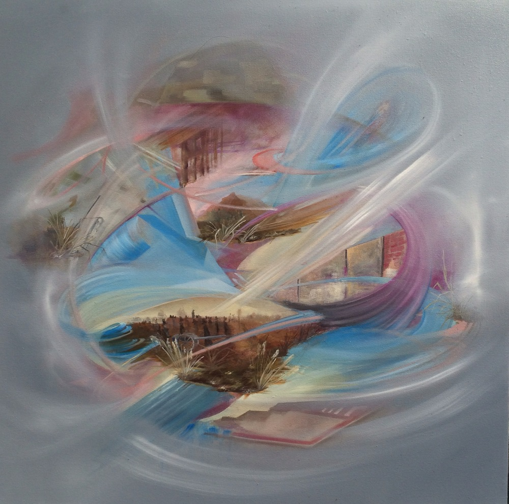 |60 cm x 60 cm| Oil on Canvas| 2014