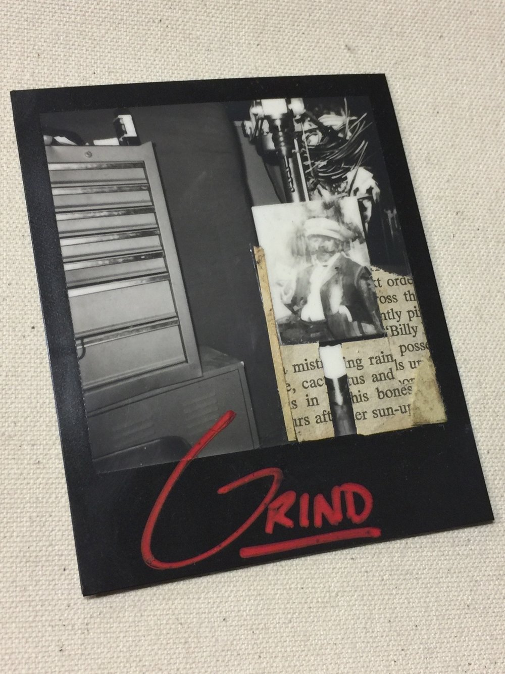 Grind|| Mixed Media