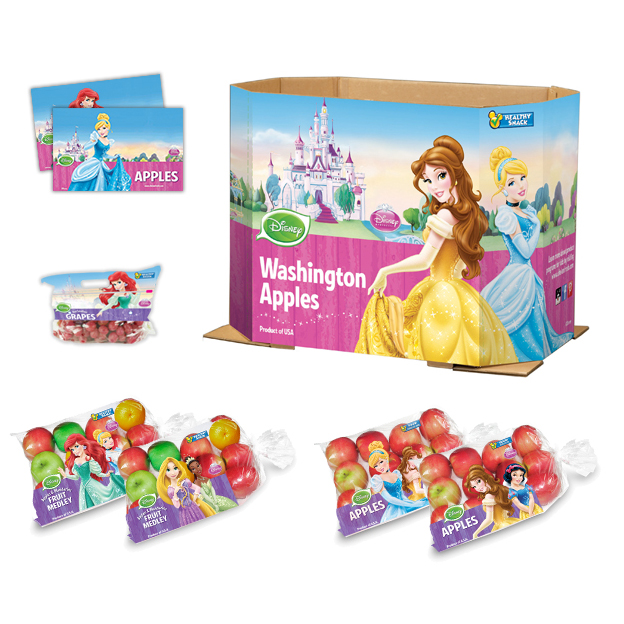 Disney Princesses Various Clientel Components: Halfbin, Slider Pouch, Price Cards, Polybags
