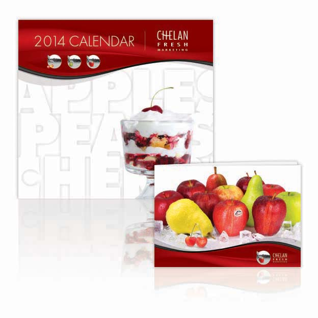 2014 Promotion Chelan Fresh Marketing Components: 2014 Calendar, Marketing Brochure