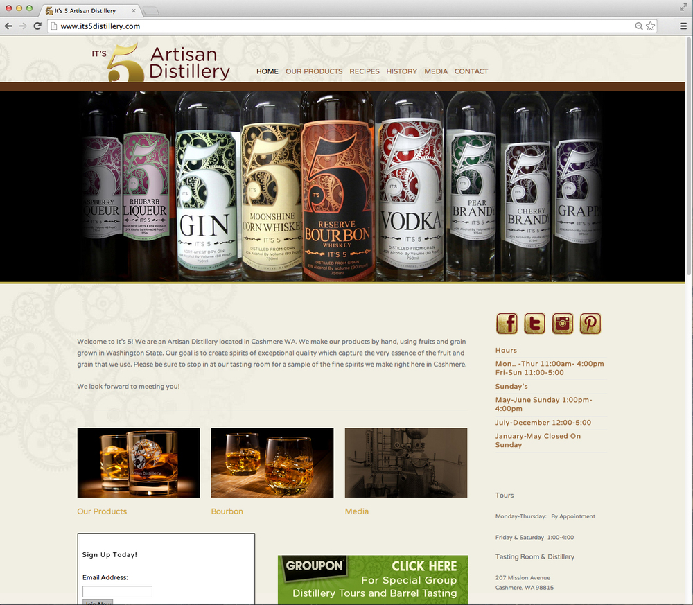 It's 5 Artisan Distillery