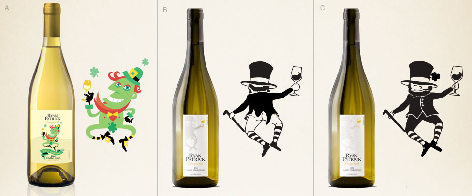 Ryan Patrick Vineyards - Naked Chardonnay Labels