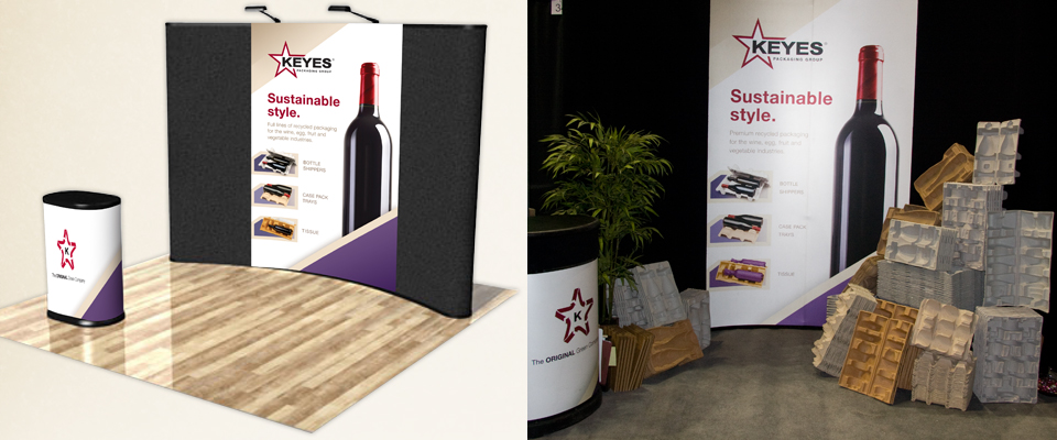 Keyes Packaging Tradeshow