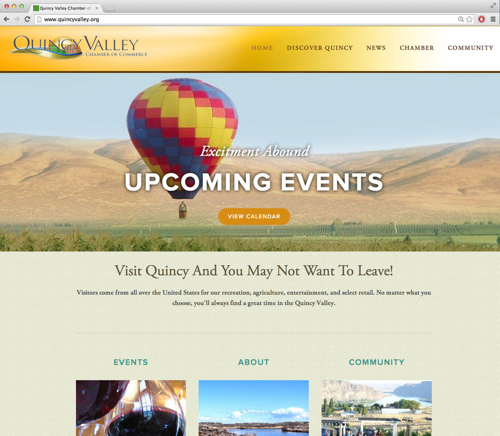 Quincy Valley Chamber of Commerce