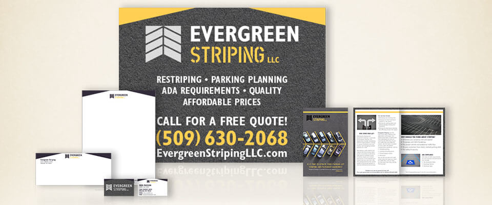 Evergreen Striping