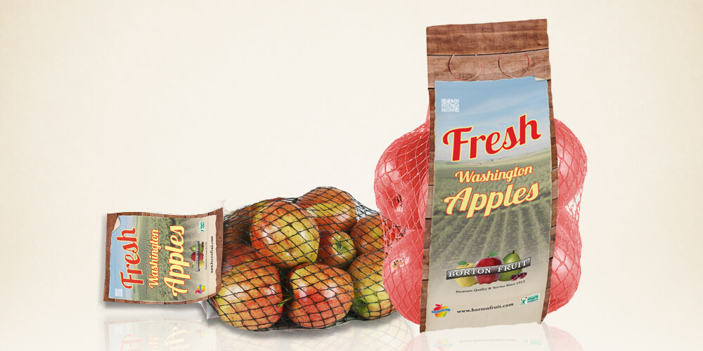 Fresh Washington Apples for Borton Fruit