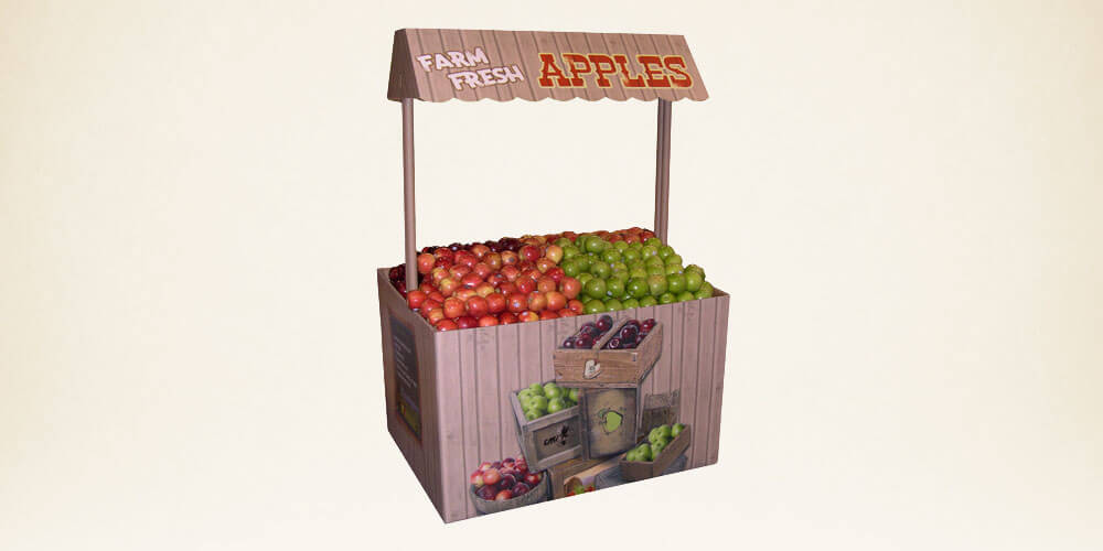 Fresh Apples Farmstand for CMI Orchards