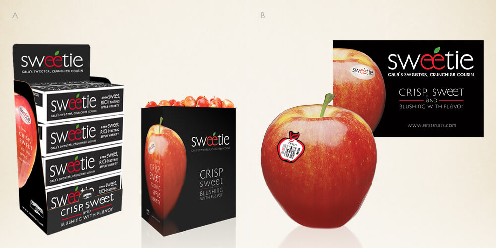 Sweetie for First Fruits Marketing
