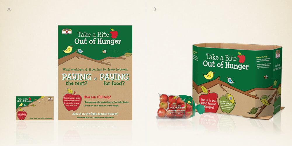 Take a Bite Out of Hunger for First Fruits Marketing