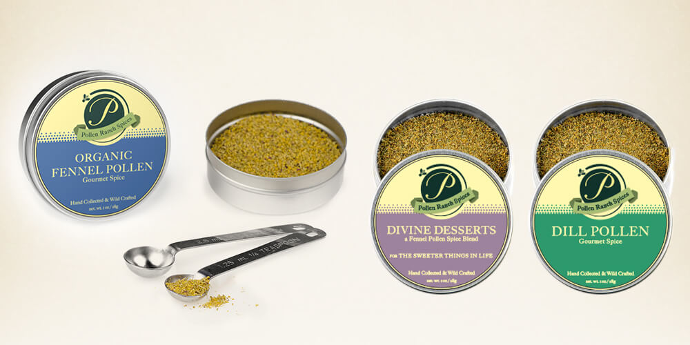 Pollen Ranch Spice Tins